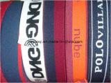 Изготовленный на заказ логос лента Webbing жаккарда 2 дюймов эластичная для шить