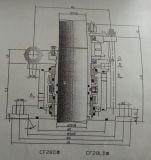 다중 봄 (CF28D)를 가진 기계적 밀봉