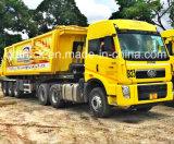 Camion del trattore della rotella di FAW 10, testa del trattore 420HP
