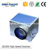 Testa Js2205 di Galvo dell'indicatore del laser per il prezzo della macchina della marcatura del laser della fibra