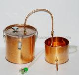 Vino non spumante di nuovo di disegno 18L/5 di gallone della casa del rame dell'acqua Moonshine puro del distillatore che fa kit