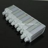 120 luz de calidad superior del enchufe del G-24 E27 10W LED del conector G23 del grado AC85-265V