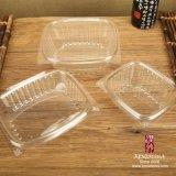 Rectángulo plástico de la ensalada del animal doméstico disponible (media)