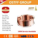 Collegare solido rivestito del rame a gas protettivo della bobina del metallo (MIG) Aws A5.18 Er70s-6
