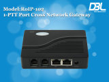 Rádio da Cruz-Rede do elevado desempenho de DBL sobre o Gateway do IP (RoIP-102)