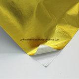 Pantalla de oro que refleja el calor Barrera de calor con soporte adhesivo