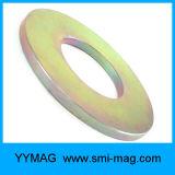 永久マグネット極度の磁化された希土類N52大きいリングNdFeB