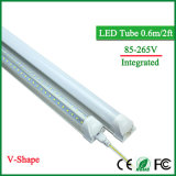 Tubi T8 600mm 20W 96LEDs SMD2835 2000lm luminoso eccellente del LED