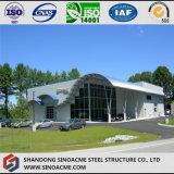 Пакгауз ферменной конструкции трубы стальной структуры с офисным зданием