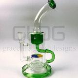 Gldg 12 duim - de lange Waterpijp van het Glas van de Recycleermachine van Perc Klien van de Fritte Elementaire