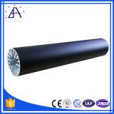 2017 populares anodizado de aluminio Tubo Negro