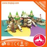 学校の販売のための屋外の運動場の城装置の子供のスライド