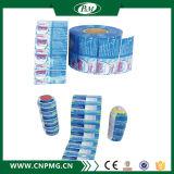 プラスチック熱-ペットびんのための縮みやすい袖のラベル