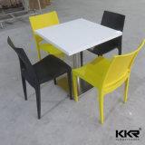 Таблица самомоднейшей домашней мебели твердая поверхностная обедая