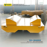 Batteriebetriebene Schiene, die den Lastwagen verwendet im Stahltausendstel handhabt