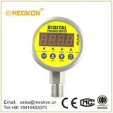 MDS800e放射状の方向土台シリーズ水、オイルは、情報処理機能をもったデジタル圧力スイッチにガスを供給する