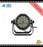 2017 al aire libre impermeable LED PAR puede 54PCS 3W 6-en-1 LED para grandes conciertos, estudio de TV