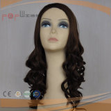 Erstklassiges Remy Jungfrau Remy Haar-volle maschinell hergestellte Frauen-Perücke (PPG-l-0782)