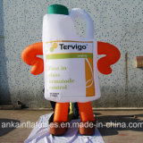 Guangzhou-Preis Airblown Typ aufblasbares Kostüm für das Bekanntmachen von Förderung