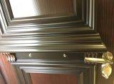 La porte en aluminium de garantie balancent à l'extérieur la porte