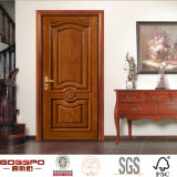 La main a découpé le modèle décoratif de porte intérieure de chambre à coucher (GSP2-074)
