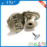 Customized Good Quality Metal Alloy Jeans Button