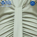 Newstyle lange Hülse gefaltetes dünner V-Ausschnitt reizvolles Form-Abend-Kleid