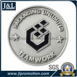 주물 아연 합금 금속 동전 앙티크 은 도금을 정지하십시오