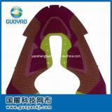 Верхушкы ботинок спорта, Knit мухы обувают Vamp