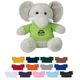 Brinquedo relativo à promoção do elefante do luxuoso no terno