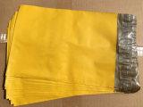 2017 عادة لون مسيكة بلاستيكيّة مراسلة حقيبة مع نفس ختم صوف