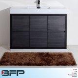 Compartiments noirs en bois modernes de Module de salle de bains de vanité de couleur à vendre