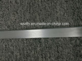 6000 серий почистила анодированную серебряную/черную алюминиевую прокладку щеткой