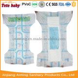 Fralda descartável respirável barata do tecido do bebê 2016 no volume