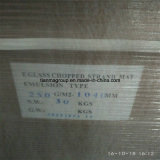 Tipo desbastado vidro da emulsão da esteira 250g da costa da fibra de vidro de E/C