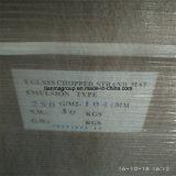 Tipo desbastado da emulsão da esteira 250g da costa do vidro de fibra