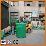 Máquina preta da limpeza do petróleo de motor ao combustível Diesel