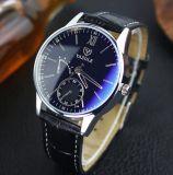 Horloges van de Manier van het Polshorloge van het Staal van de mens de Westelijke Promotie Gemerkte