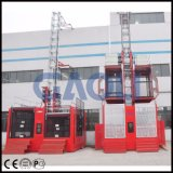 Gaoli Sc200 / 200 Ce & GOST Construction Hoist Elevator Machinery