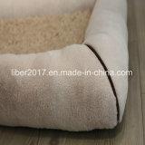 Кровать софы постельных принадлежностей тюфяка кота собаки любимчика продуктов любимчика прямоугольника теплая мягкая
