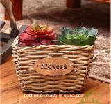 (BC-WF1024) Cestino naturale Handmade puro del fiore del salice