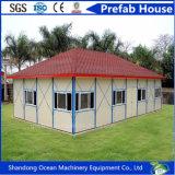 Casa Prefab modular da construção nova do projeto para bungalow pré-fabricado da vida/estrutura