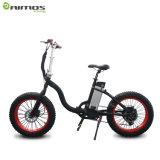 Ce 250W ~ 500W 25 ~ 32 kilometros / H Easy Rider marco eléctrico de la bici con la batería de litio de Samsung