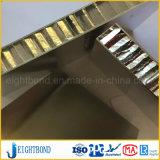 Het PVDF Met een laag bedekte Comité van de Honingraat van het Aluminium voor het Materiaal van de Bijdrage