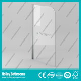Walk-in Dusche-Aluminiumbildschirm mit freiem ausgeglichenem Glas (SE931C)