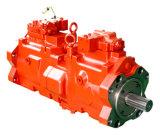 Pompa hydráulica de K3V con las piezas
