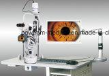 Microscope de lampe de fente de Poweam Digital avec le Tableau motorisé (J8D)
