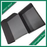Caja de cartón modificada para requisitos particulares pila de discos plana de la impresión de la talla para empaquetar