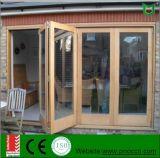 Escoger la ventana BI-Plegable de aluminio esmaltada/Windows de cristal doble plegable