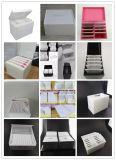 Caja de presentación de acrílico creativa de la pestaña que vetea